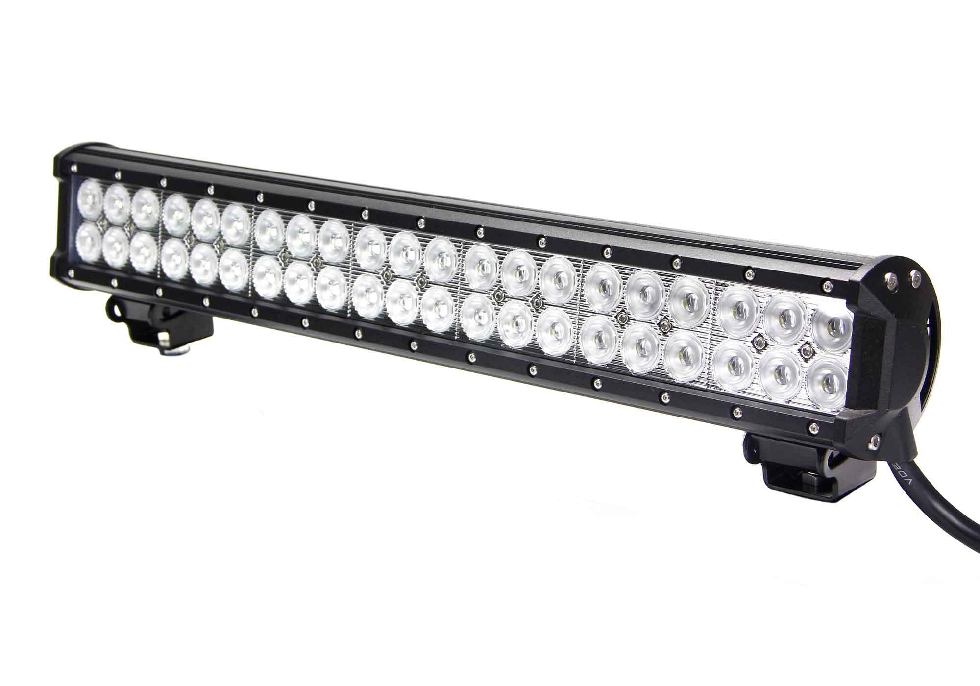 Vortex Series Led Light Bar 20 Inch 126 Watt Combo
