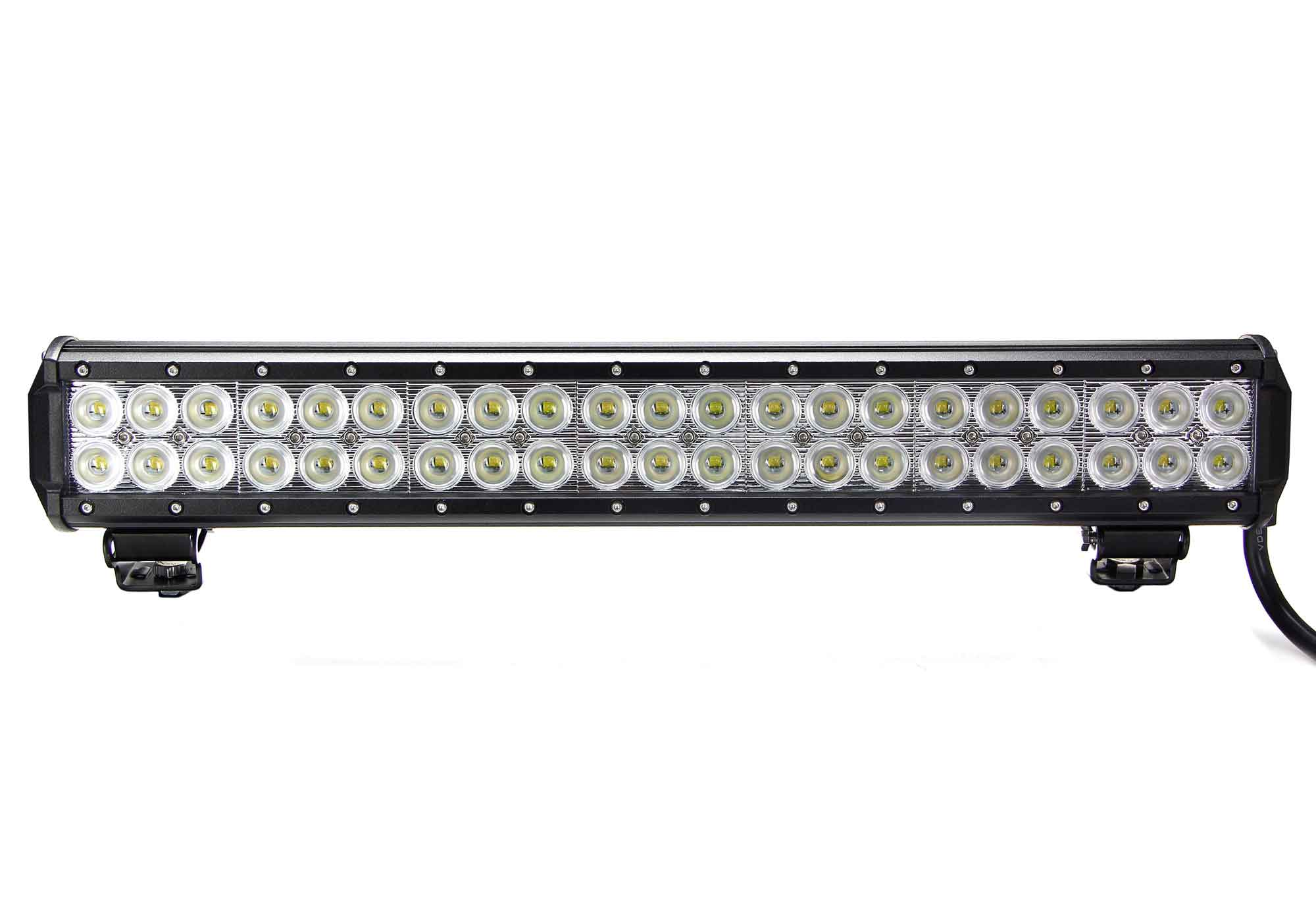 vortex series led light bar 20 inch 126 watt combo tuff led lights. Black Bedroom Furniture Sets. Home Design Ideas