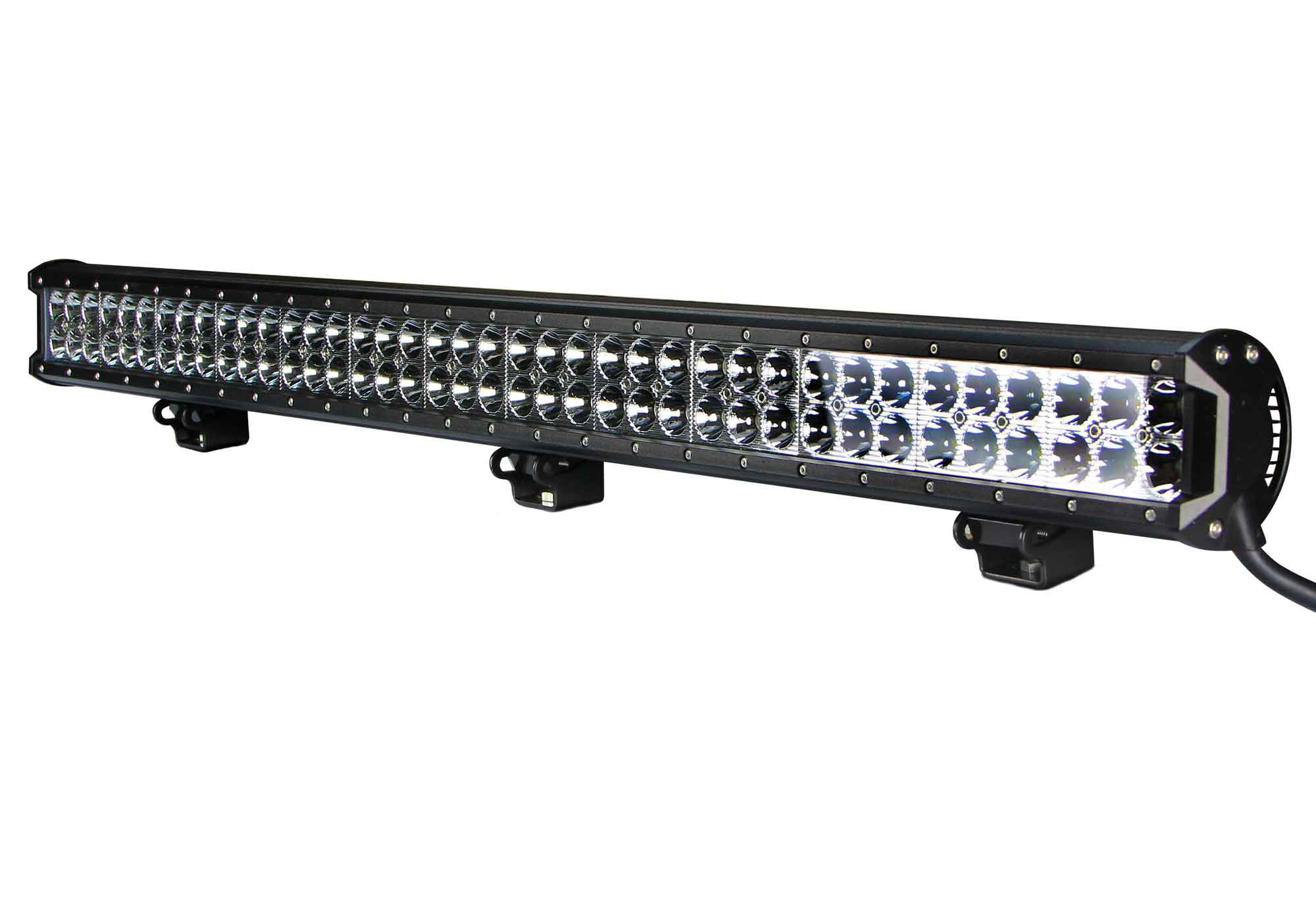 Vortex series led light bar 36 inch 234 watt combo tuff led lights defcon36in234w1 aloadofball Image collections