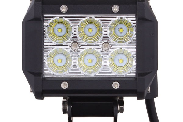 Vortex series led light bar 4 inch 18 watt spot tuff led lights vortex series led light bar 4 inch 18 watt spot aloadofball Image collections