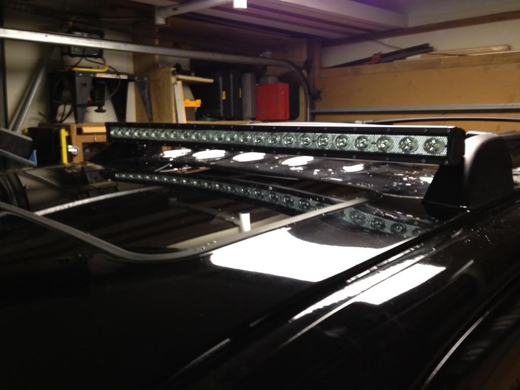 Lava Series Led Light Bar 40 Inch 120 Watt Combo