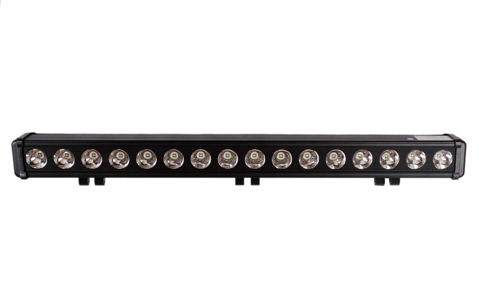 Big cree single row led light bar 30 inch 160 watt spot tuff single row led light bar 30 inch 160 watt spot rogue30in160w5 aloadofball Images